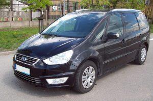 Wypożyczalnia Samochodów Koszalin - klasa VAN - Ford Galaxy