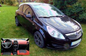 Wypożyczalnia Samochodów Koszalin - klasa B - Opel Corsa D