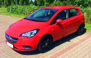 Wypożyczalnia Samochodów Koszalin - klasa B - Opel Corsa E